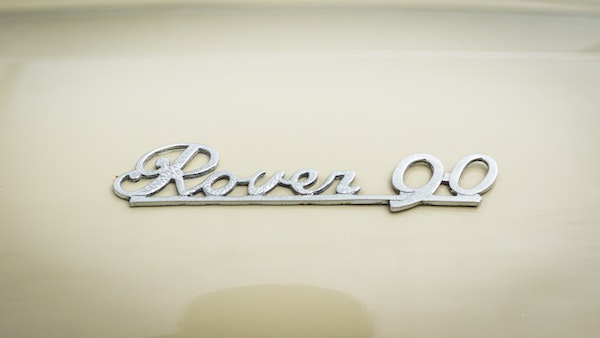 1959 Rover P4 90 For Sale (picture 78 of 153)