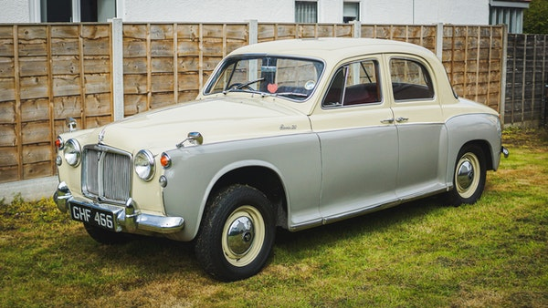 1959 Rover P4 90 For Sale (picture 24 of 153)