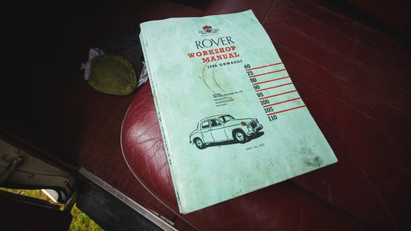 1959 Rover P4 90 For Sale (picture 140 of 153)