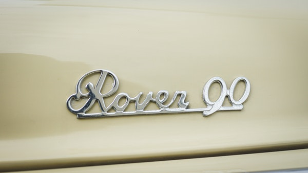1959 Rover P4 90 For Sale (picture 79 of 153)