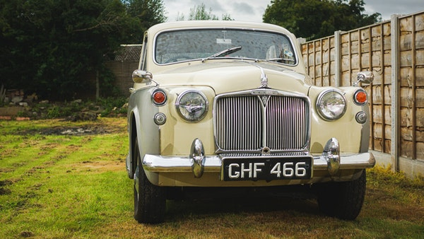 1959 Rover P4 90 For Sale (picture 11 of 153)