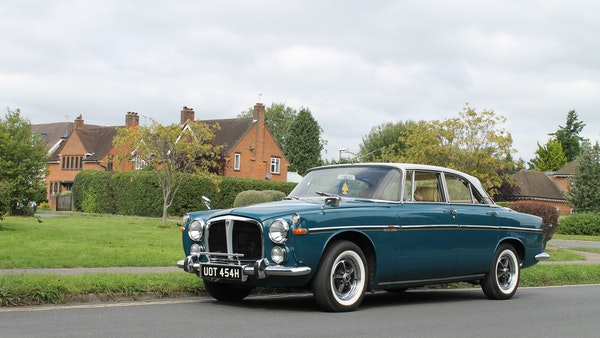 1970 Rover P5B 3.5 Coupe For Sale (picture 3 of 130)