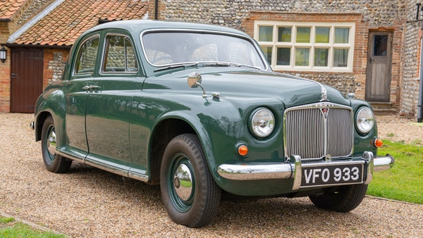 RESERVE LOWERED - 1955 Rover 75 P4 For Sale (picture 20 of 146)