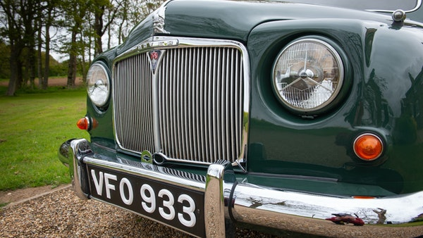 RESERVE LOWERED - 1955 Rover 75 P4 For Sale (picture 98 of 146)