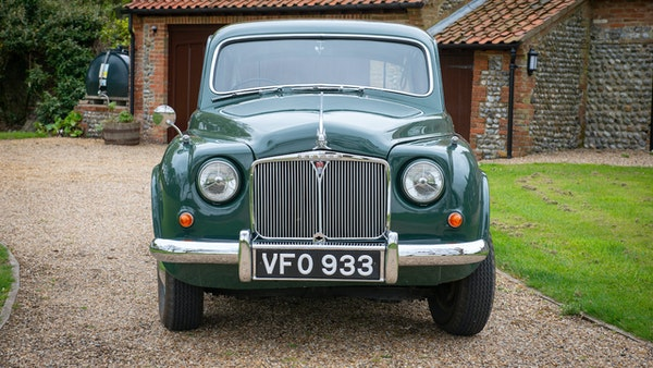 RESERVE LOWERED - 1955 Rover 75 P4 For Sale (picture 3 of 146)