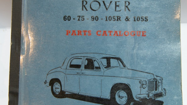 RESERVE LOWERED - 1955 Rover 75 P4 For Sale (picture 142 of 146)