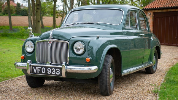 RESERVE LOWERED - 1955 Rover 75 P4 For Sale (picture 8 of 146)