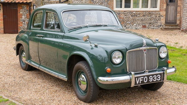 RESERVE LOWERED - 1955 Rover 75 P4 For Sale (picture 19 of 146)