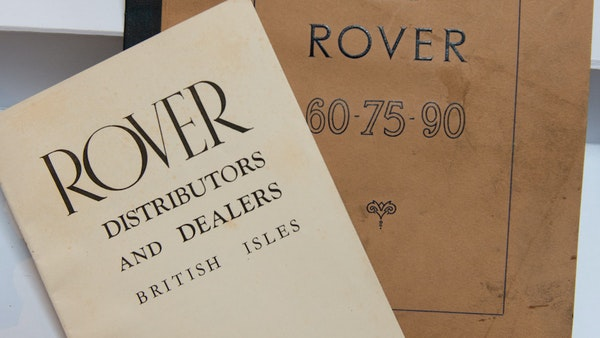 RESERVE LOWERED - 1955 Rover 75 P4 For Sale (picture 144 of 146)