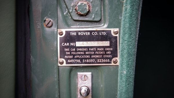 RESERVE LOWERED - 1955 Rover 75 P4 For Sale (picture 93 of 146)