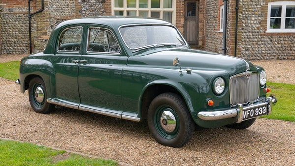 RESERVE LOWERED - 1955 Rover 75 P4 For Sale (picture 25 of 146)