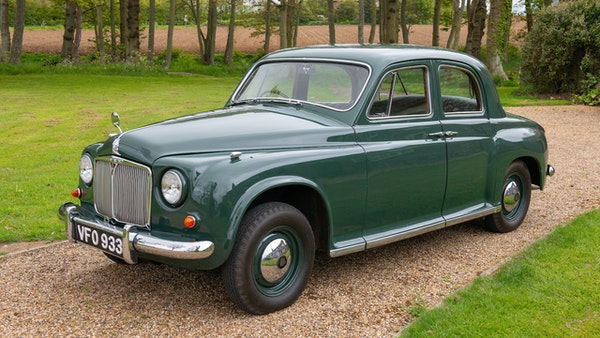 RESERVE LOWERED - 1955 Rover 75 P4 For Sale (picture 24 of 146)