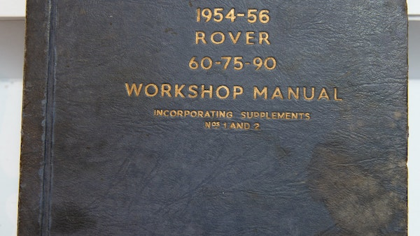 RESERVE LOWERED - 1955 Rover 75 P4 For Sale (picture 140 of 146)