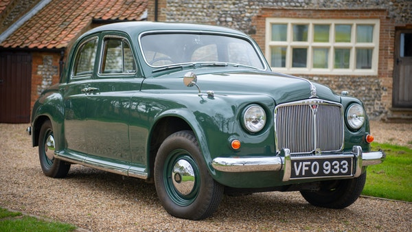 RESERVE LOWERED - 1955 Rover 75 P4 For Sale (picture 7 of 146)