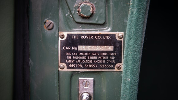 RESERVE LOWERED - 1955 Rover 75 P4 For Sale (picture 92 of 146)