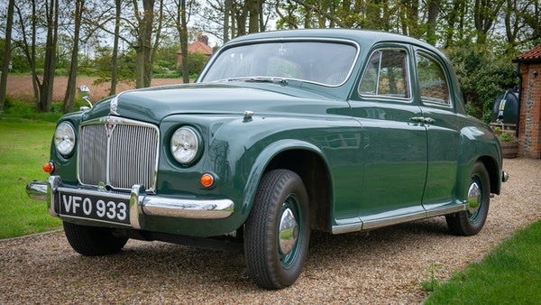 RESERVE LOWERED - 1955 Rover 75 P4 For Sale (picture 1 of 146)