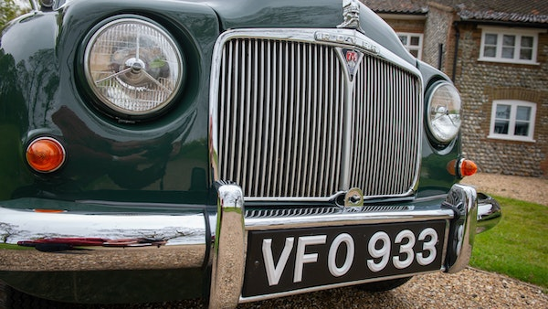 RESERVE LOWERED - 1955 Rover 75 P4 For Sale (picture 97 of 146)