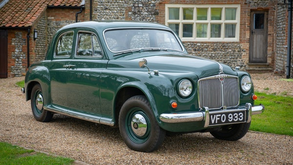 RESERVE LOWERED - 1955 Rover 75 P4 For Sale (picture 9 of 146)