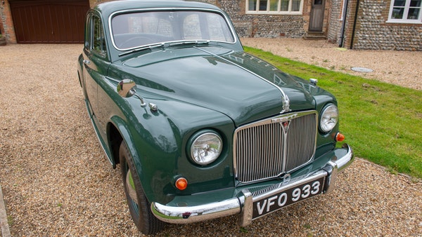 RESERVE LOWERED - 1955 Rover 75 P4 For Sale (picture 22 of 146)