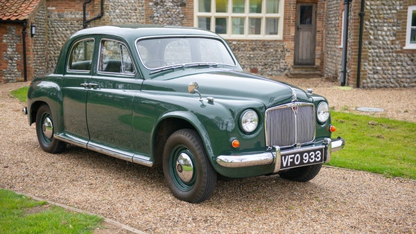 RESERVE LOWERED - 1955 Rover 75 P4 For Sale (picture 27 of 146)