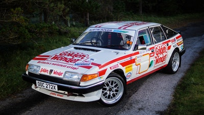 1982 Rover SD1 'Golden Wonder' - '84 Scottish Rally Winner