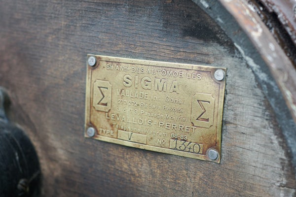 1918 Sigma 10 Tourer For Sale (picture 51 of 107)