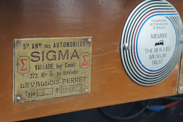 1918 Sigma 10 Tourer For Sale (picture 57 of 107)