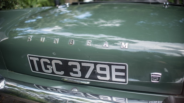 1967 Sunbeam Alpine Series V For Sale (picture 52 of 155)