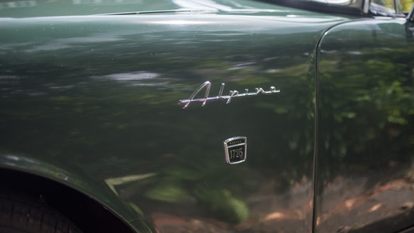 1967 Sunbeam Alpine Series V For Sale (picture 65 of 155)