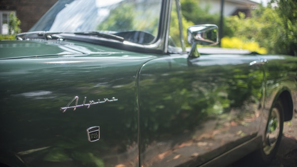 1967 Sunbeam Alpine Series V For Sale (picture 64 of 155)