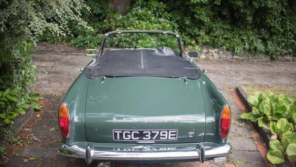 1967 Sunbeam Alpine Series V For Sale (picture 50 of 155)