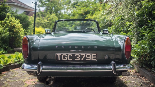 1967 Sunbeam Alpine Series V For Sale (picture 85 of 155)