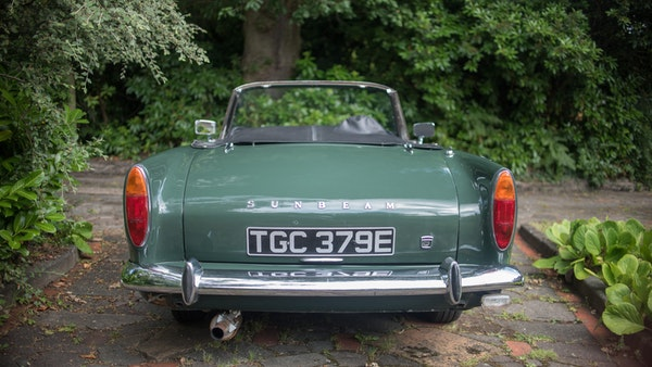 1967 Sunbeam Alpine Series V For Sale (picture 49 of 155)