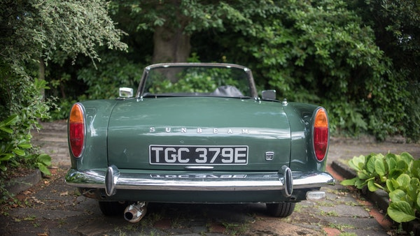 1967 Sunbeam Alpine Series V For Sale (picture 48 of 155)