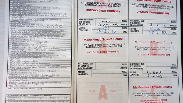 1991 Toyota Corolla GTi 16V For Sale (picture 87 of 103)