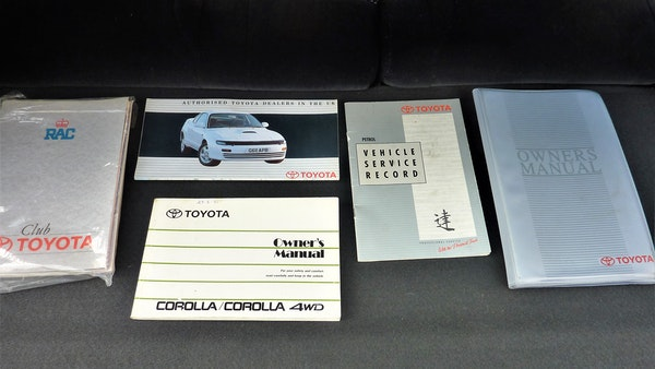 1991 Toyota Corolla GTi 16V For Sale (picture 79 of 103)