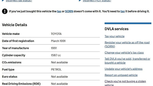 1991 Toyota Corolla GTi 16V For Sale (picture 81 of 103)