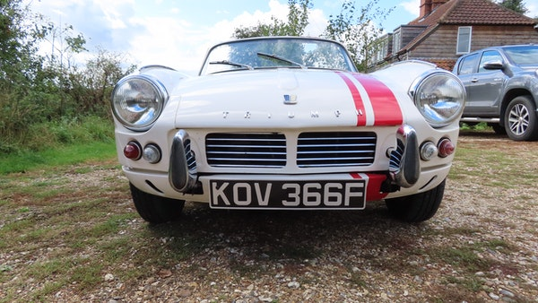 1967 Triumph Spitfire MkIII For Sale (picture 5 of 68)