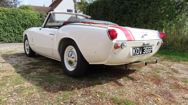 1967 Triumph Spitfire MkIII For Sale (picture 10 of 68)