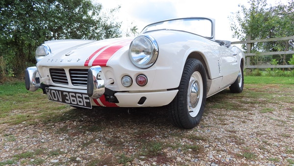 1967 Triumph Spitfire MkIII For Sale (picture 18 of 68)