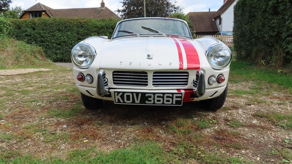 1967 Triumph Spitfire MkIII For Sale (picture 22 of 68)