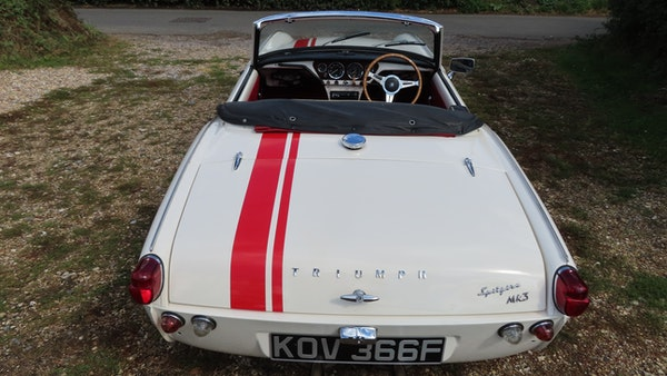 1967 Triumph Spitfire MkIII For Sale (picture 7 of 68)