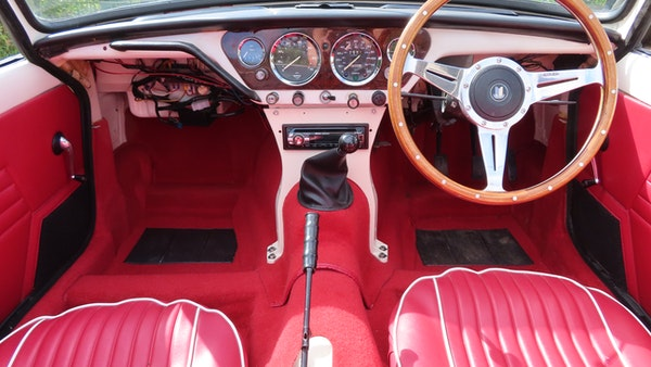1967 Triumph Spitfire MkIII For Sale (picture 31 of 68)