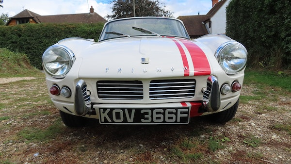 1967 Triumph Spitfire MkIII For Sale (picture 24 of 68)