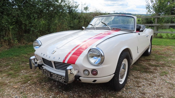1967 Triumph Spitfire MkIII For Sale (picture 3 of 68)