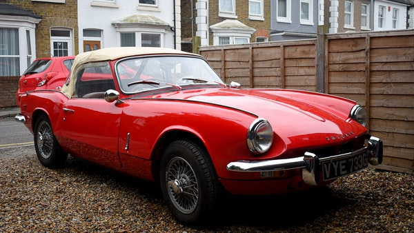 1968 Triumph Spitfire Mk. III For Sale (picture 16 of 131)