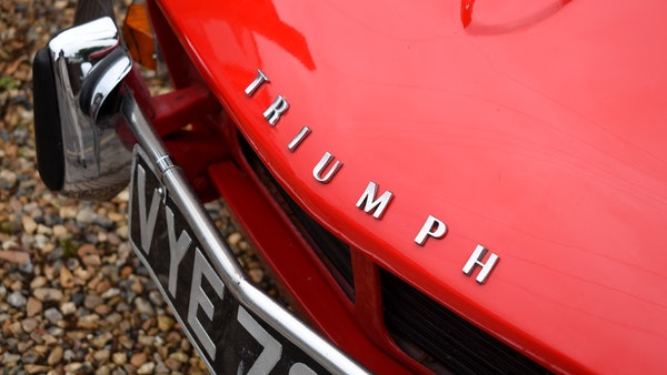 1968 Triumph Spitfire Mk. III For Sale (picture 57 of 131)