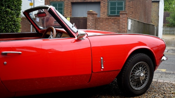 1968 Triumph Spitfire Mk. III For Sale (picture 64 of 131)