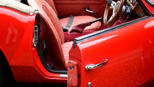 1968 Triumph Spitfire Mk. III For Sale (picture 96 of 131)
