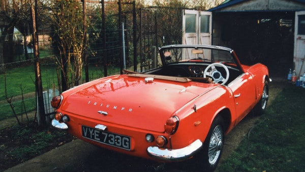 1968 Triumph Spitfire Mk. III For Sale (picture 131 of 131)